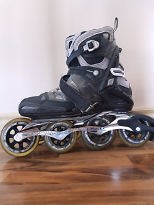 Size 11 Rollerblade with 100mm wheels!
