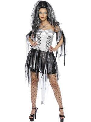 Femmes Halloween Mariée Fantôme Costume Déguisement par Smiffys - Non Halloween Costumes
