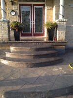 Stamped and Exposed Concrete Professional for Hire