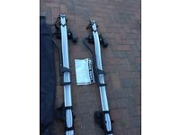 Pair of Land Rover bike carriers