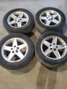 Chevrolet EQUINOX OEM rims and tires