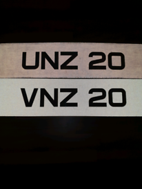 Matching 2 digit Number plates