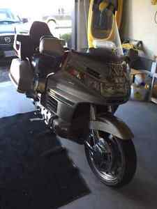 Nice Gold Wing with low mileage