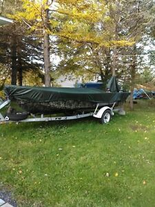 2006 16 ft G3 Alum. Boat with Yamaha 60 hp outbd galvan.trailer