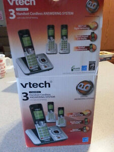 3 Handset Cordless Answering System