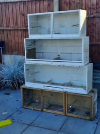 Breeding cages budgies or canarys