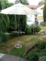 Patio Table Umbrella with stand