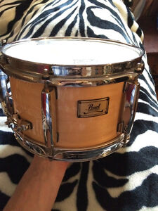 """10"""" Pearl Maple Shell Snare Drum"""