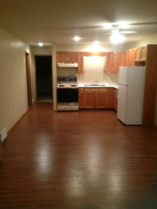 Bright 2 bedroom basement suite