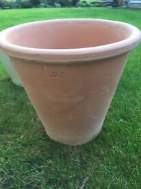 Large new terracotta plant pot'Italian made'