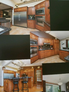 Kitchen  cabinets for sale $7500obo