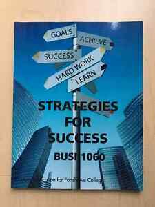 Strategies for success textbook Fanshawe College (NEW BOOK)