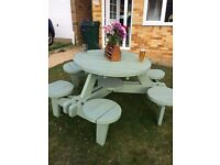 6 seater picnic table ( 3 in total)
