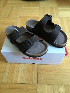 Girls sandals by Softmoc