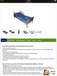 Delta 1000 Electric lift bed