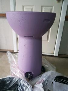 Purple My Balconia Terrastone Charcoal Barbecue Brand new in box