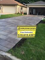 INTERLOCKING STONE SPECIALISTS! **FREE ESTIMATES**