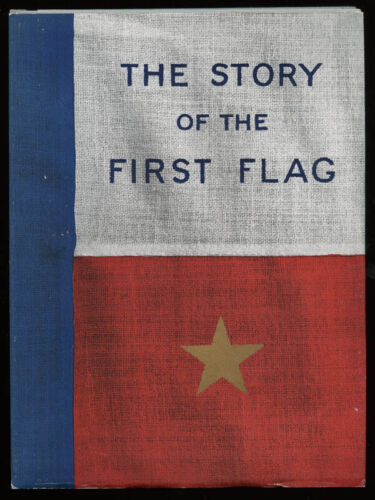 """WWI """"The Story of the First Flag"""" Carried to France by KIA 1st Lt. A.C. Kimber"""