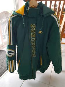 Greenbay Packer Proline NFL Starter winter jacket size M