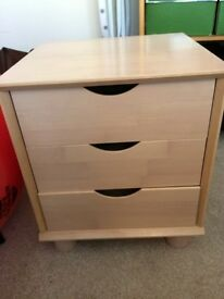 Small drawer or bed side cabinet