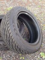 """Like new 16"""" low profile summer tires"""