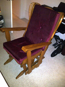 REDUCED .MOVING Platform Rocker  excellent condition