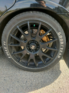 5x114.3 18in Wheels (With Tires)