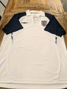 Official Umbro England Jersey Kit Worn Once! Rare Vintage