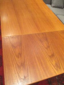 MCM Teak Dining Table Made in Denmark