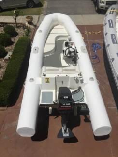RIB boat, soild foam tubes