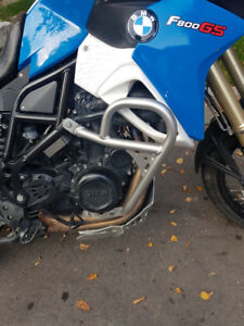 BMW F800GS SW MOTECH CRASH BARS