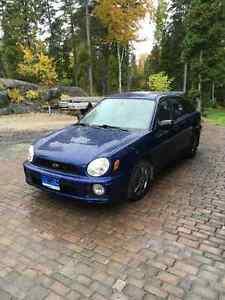 2002 Subaru Impreza TS Familiale