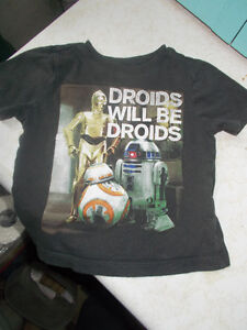 Star Wars Droids Will Be Droids Baby Shirt, Size 12-18 Months