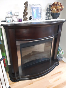 AMAZING DEAL !!!! Wood electric fireplace.  PERFECT CONDITION
