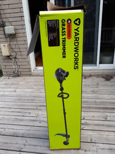 Yardworks Gas-powered Grass Trimmer for Sale – Never Used