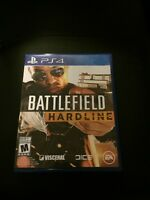 Battle Field Hardline for the PS4