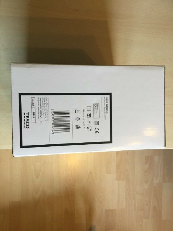 Tesco 600w Hand Blender - Brand New and Still Boxed