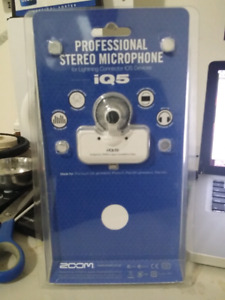 Professional stereo microphone iq5 by Zoom