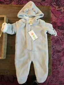 New Baby Fleece Hooded Jumper
