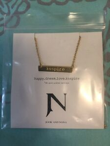 Jook and Nona gold plated necklace