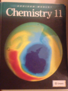 Addison Wesley Chemistry 11 Textbook