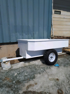 ATV tub trailer