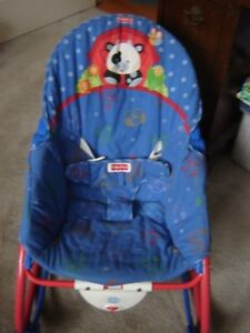 Fisher price vibrating chair