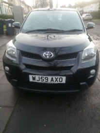TOYOTA URBAN CRUISER LOW MILEAGE 50116 MILES ONLY ON THE CLOCK £3400