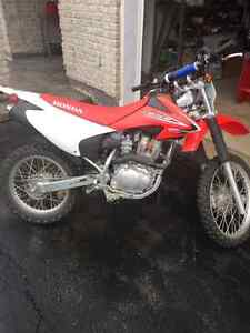 2013 Honda Dirt Bike CRF 150F Almost New