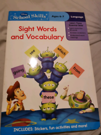 Disney Toy Story School Skills Ages 6-7 words and vocabulary Book
