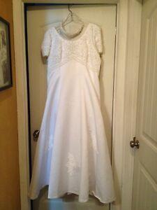 Size 18-20 Wedding Dress