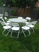 Party rentals !!! chairs,Tables,food warmers for rent!!!!
