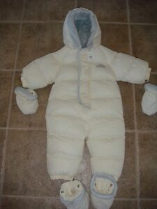 The childrens place size 12 month snowsuit new with tags