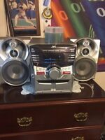 JVC stereo with all the extra